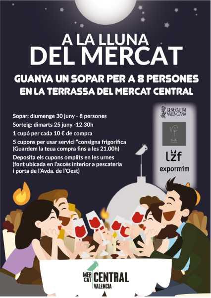 5ac131036 El Mercado Central sortea entre sus clientes una cena para celebrar la Nit  de Sant Joan