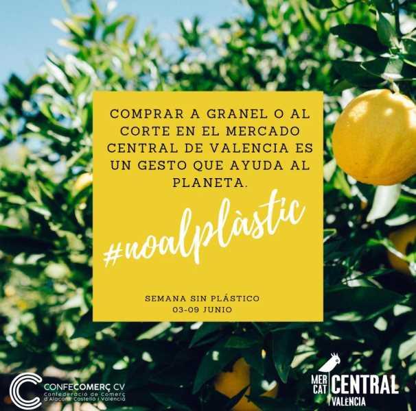 73dce51e7 El Mercado Central se suma a la Semana sin Plástico con motivo del Día del  Medio Ambiente